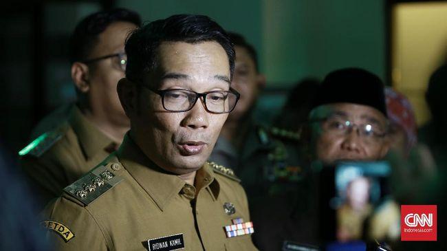 Gubernur Jawa Barat Ridwan Kamil menyebut ada 6 juta orang yang biasanya mudik Lebaran. Namun, sejauh ini baru 1 persen yang mudik.