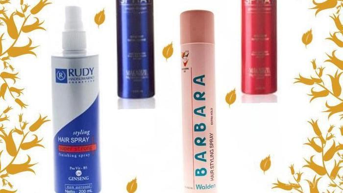 Rekomendasi 3 Hair Styling Spray di Bawah Rp100.000