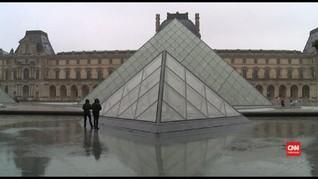 VIDEO: Museum Louvre Tutup Sementara karena Corona