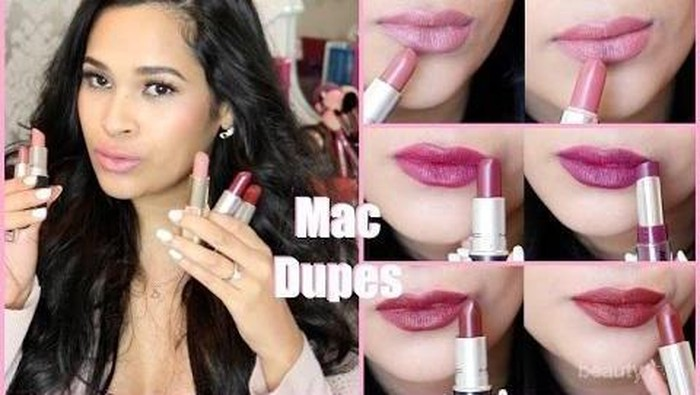 Warna Lipstick MAC & Versi Dupe-nya yang Cocok untuk Kulit Kuning Langsat (Bagian 2)