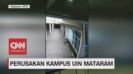 VIDEO: Perusakan Kampus UIN Mataram
