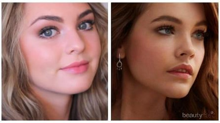 Cantik & Memukai Dengan Makeup ala Barbara Palvin
