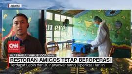VIDEO: Dinkes Ambil Sampel Tenggorokan Karyawan Amigos