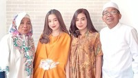 <p>Potret kompak Jarwo, Nuryana, dan kedua anaknya. (Foto: Instagram: @anjanyrw)&nbsp;</p>