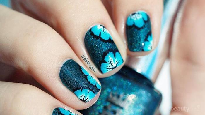 8 Inspirasi Nail Art Bunga yang Cantik (Bagian 2)