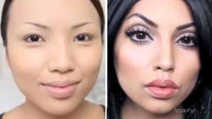 Tutorial Makeup ala Kylie Jenner