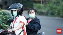 Grab Latih Istri Driver Buat Masker untuk Tambah Penghasilan