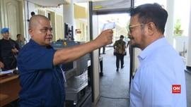 VIDEO: Masuk Istana Kepresidenan Wajib Cek Suhu Tubuh