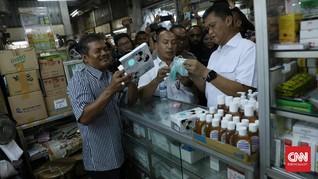 Harga Masker dan Hand Sanitizer di Toko Online Mulai Turun