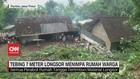 VIDEO: Tebing 7 Meter Longsor Menimpa Rumah Warga