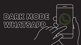 INFOGRAFIS: Cara Aktifkan Dark Mode WhatsApp