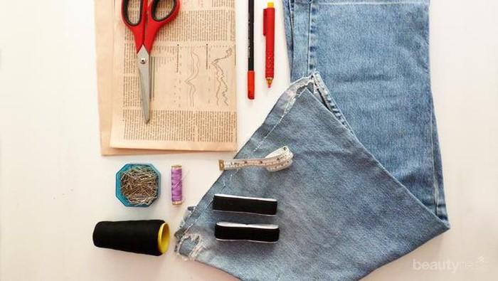 20 DIY Re-Cycle: Ubah Jeans Bekas Jadi Barang-barang Cantik (Part I)