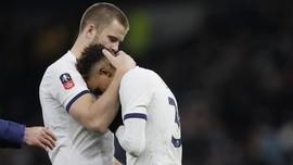 Kalah di Piala FA, Pemain Tottenham Berkelahi dengan Suporter