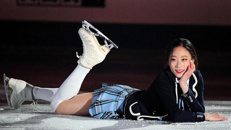 Ini dia lima potret You Young, atlet Korea Selatan yang naksir berat dan ingin kencani V BTS.