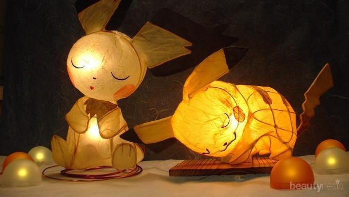 Aneka Bentuk Lampu Tidur Lucu