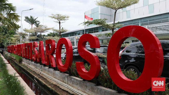 RSPI Prof. Dr. Sulianti Saroso, Sunter, Jakarta, Kamis, 5 Maret 2020. CNNIndonesia/Safir Makki