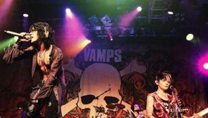 Kumpulan Aksi Seru VAMPS Saat Hyper Wave Festival 2013 di Jakarta