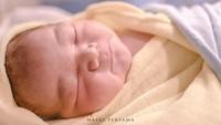 <p>Anak kedua Vicky Shu berjenis kelamin laki-laki. Bayi mereka itu diberi nama Guinandra Janadi Nugroho Putro. (Foto: Instagram @vickyshu)</p>