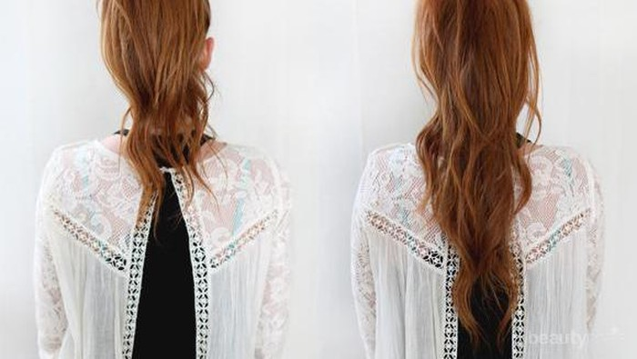 5 Cara Mengubah Gaya Rambut Panjangmu Hanya Dalam 5 Menit!