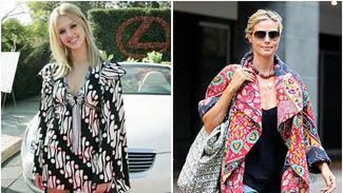 Para Selebriti Hollywood Ini Bergaya dengan Batik