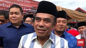 Menteri Agama Fachrul Razi Dinyatakan Negatif Covid-19