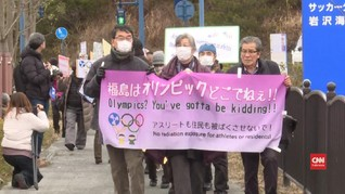 VIDEO: Warga Fukushima Demo Tolak Olimpiade
