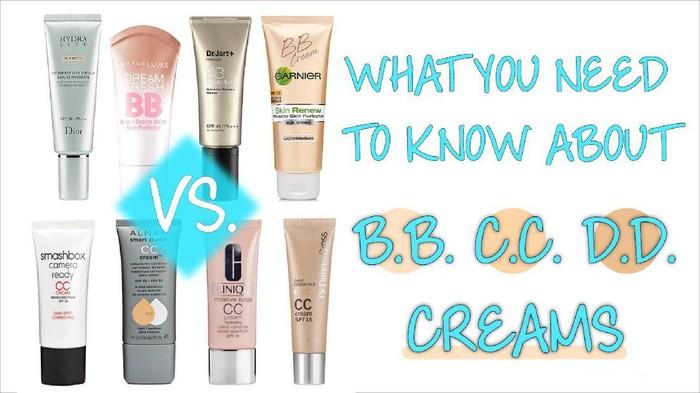 Ladies, Bedanya BB Cream, CC Cream sama DD Cream Apa Ya?
