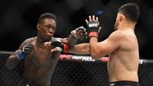 UFC 253: Serangan Adesanya 24 Kali Hantam Kepala Costa