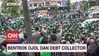 VIDEO: Bentrok Ojol Dan Debt Collector