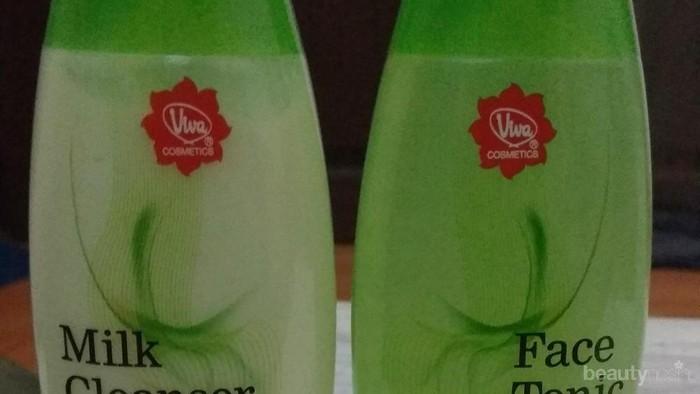 [FORUM] ada yg pernah pakai milk cleanser n face tonic viva greentea belum?