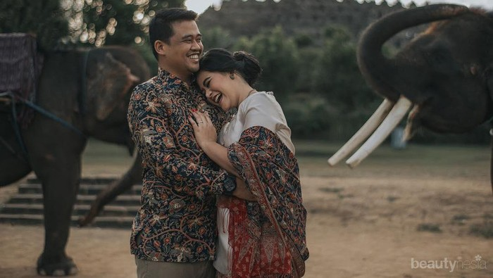 Jadi Sorotan Netizen, Foto Pre-Wedding Kahiyang Ayu dan Bobby Ini Romantis Banget!