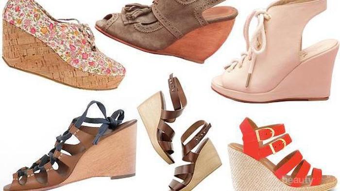 Punya Banyak Jenis, Ternyata Ini Macam-macam Nama Sepatu Wedges yang Harus Diketahui