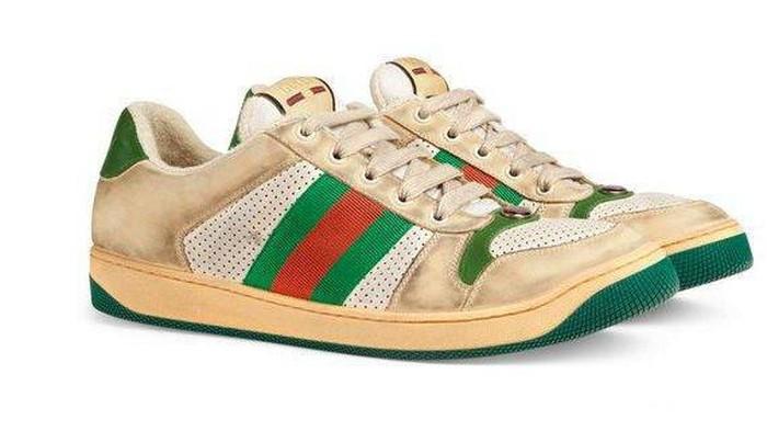 [FORUM] Gucci Jual sneakers dekil Rp16 jutaan, emang ada yang beli ya dear?