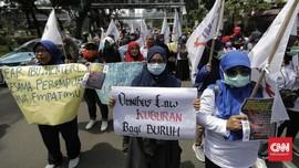 Buruh Demo RUU Ciptaker, Polisi Alihkan Lalin Sekitar DPR