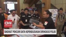 VIDEO: Sindikat Pencuri Data Kependudukan Diringkus