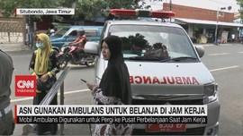 VIDEO: ASN Gunakan Ambulans untuk Belanja di Jam Kerja
