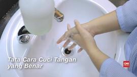 VIDEO:Langkah-langkah Cuci Tangan untuk Cegah Corona