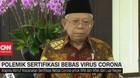 VIDEO: Polemik Sertifikasi Bebas Virus Corona