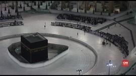 VIDEO: Jemaah Diperbolehkan Mendekat ke Kabah