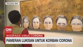 VIDEO: Pameran Lukisan Untuk Korban Corona