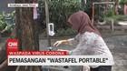 VIDEO: Cegah Corona, Pemkot Surabaya Pasang Wastafel Portable
