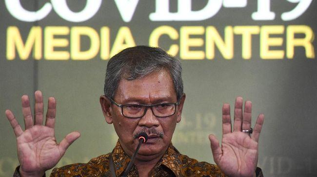 Dirjen Pencegahan dan Pengendalian Penyakit, Achmad Yurianto mengatakan Satgas Covid-19 level daerah juga bisa membubarkan konser pilkada.