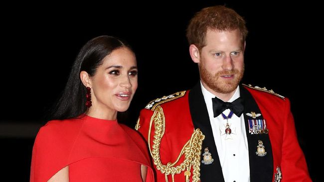 Meghan Markle-Harry kembali bersama dengan Pangeran William-Kate Middleton dalam acara kerajaan setelah mengumumkan mundur sebagai anggota senior.