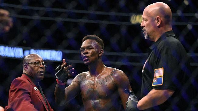 Israel Adesanya punya modal keunggulan jangkauan atas Jan Blachowicz jelang duel di UFC 259.