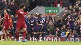 Mohamed Salah dan Sadio Mane menjadi penentu kemenangan Liverpool atas Bournemouth pada lanjutan Liga Inggris, Sabtu (7/3).