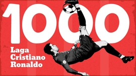 INFOGRAFIS: Statistik 1.000 Laga Cristiano Ronaldo