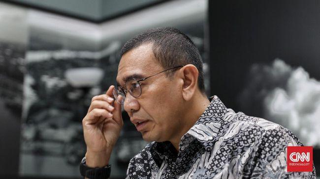 Staff Khusus Menteri Badan Usaha Milik Negara (BUMN), Arya Sinulingga di Kantor BUMN, Jakarta, Senin, 9 Maret 2020. CNNIndonesia/Safir Makki