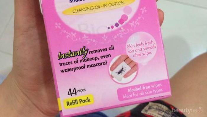 Wajah Bersih Seketika Berkat Biore Makeup Remover Wipes, Ini Kelebihannya!