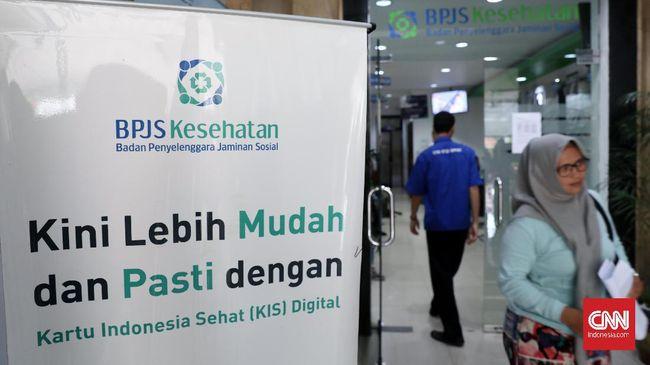 Pelayanan BPJS Kesehatan di kantor BPJS Matraman, Jakarta, Selasa, 10 Maret 2020. Mahkamah Agung (MA) mengabulkan uji materi Peraturan Presiden Nomor 75 Tahun 2019 tentang Jaminan Kesehatan dan membatalkan kenaikan iuran BPJS Kesehatan. CNNIndonesia/Safir Makki
