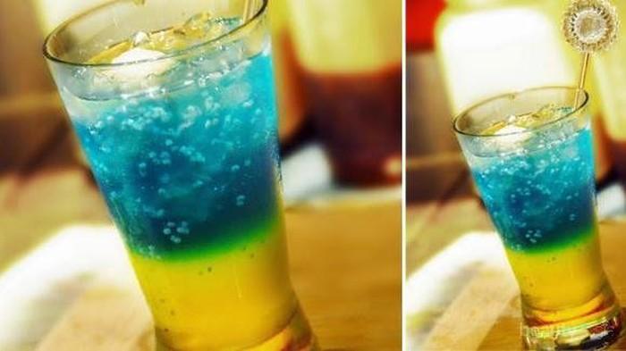 Intip Resep Rainbow Punch, Minuman Soda Gembira Nan Menyegarkan untuk Perayaan Malam Tahun Baru Anda!